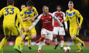 Arsenal face Ostersund in the Europa League round of 32.