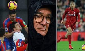 Martin Kelly, Claudio Ranieri, Fabinho.