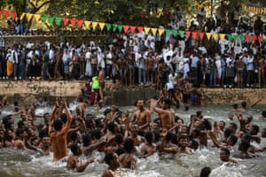 The bath, or pool, was commissioned by former Ethiopian emperor Fasilides in the 17th century