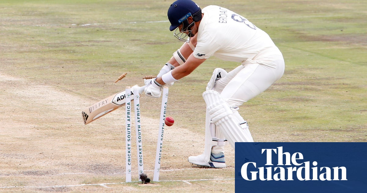 South Africa win first Test by 107 runs after new ball leads to England collapse