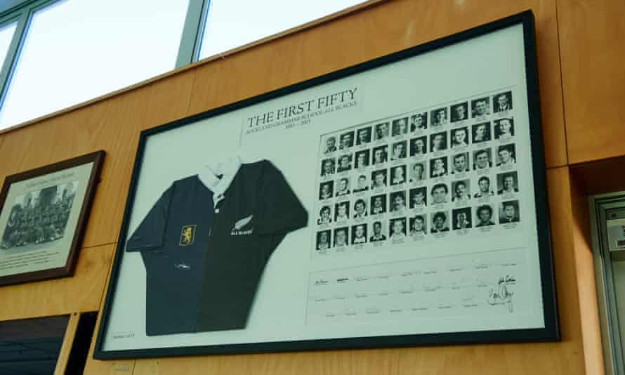 Altogether there have been 1,146 All Blacks and 51 of them have studied Auckland grammar school.