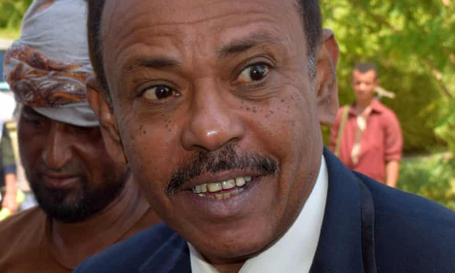 Jaafar Mohamed Saad, governor of Aden
