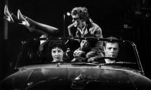 All roads lead to Rome … Yvonne Furneaux and Marcello Mastroianni in La Dolce Vita.