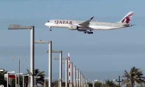 Qatari plane