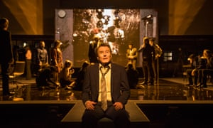 Bryan Cranston in Network at National Theatre, London