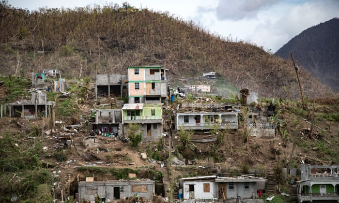 It Feels Like Dominica Is Finished Life Amid The Ruins Left By Hurricane Maria Janise Elie Global Development The Guardian