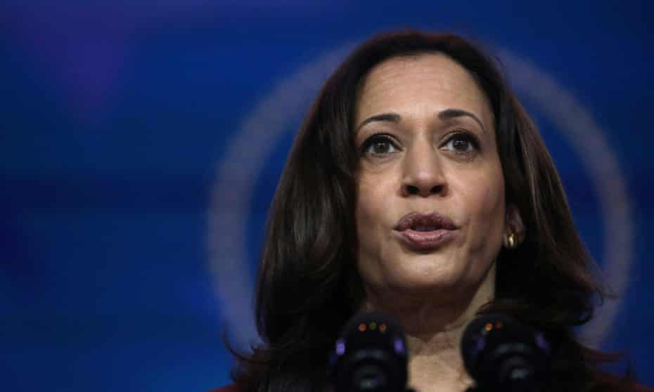 Asked recently to define what would constitute success in her role as vice-president, Kamala Harris replied: 'Joe Biden's success.'