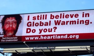 Billboards in Chicago paid for by The Heartland Institute