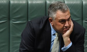 Federal Treasurer Joe Hockey during question time in the House of Representatives at Parliament House in Canberra, Wednesday, March 18, 2015. (AAP Image/Mick Tsikas) NO ARCHIVING