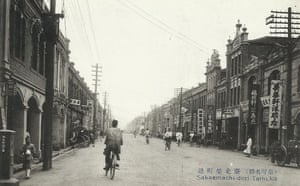 Taipei before cars, scooters and multi-level highways.