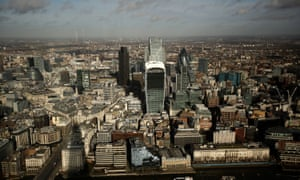 City of London, the capital's financial district.