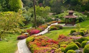 Japanese garden in Powerscourt