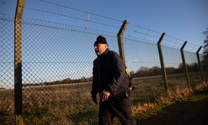 Ray Taylor on his 24-mile round-trip walk from home in Ramsey, Cambridgeshire, to the jobcentre in Huntingdon, where he signs on for universal credit, and and back again.