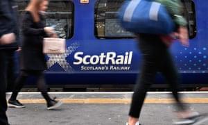A ScoRail train