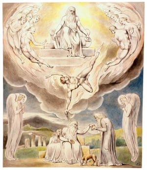 William Blake's Satan Going Forth From the Presence of the Lord