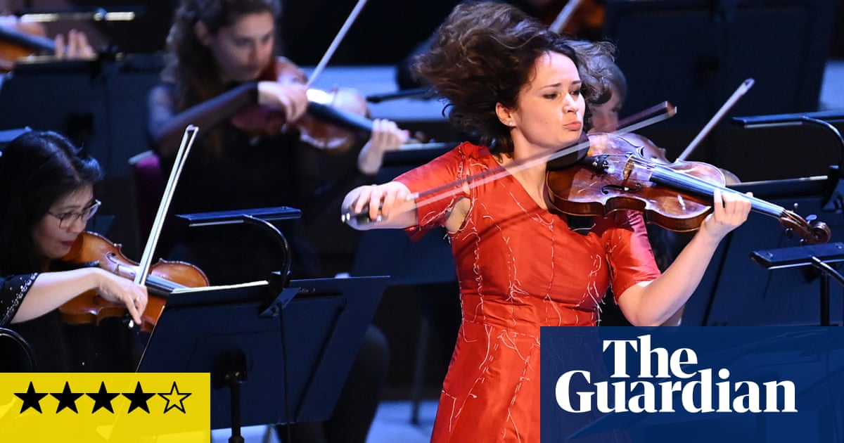 BBCSSO/Volkov/ Kopatchinskaja review – Bartók's roots unearthed with brilliance