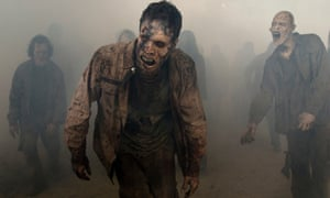 At least you know what the walkers are going to do. Walk towards you, very slowly, mouths open. Negan, by contrast, was unpredictable.