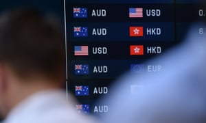 Broad demand for the US dollar against a range of Asian currencies is pushing the Australian dollar lower.