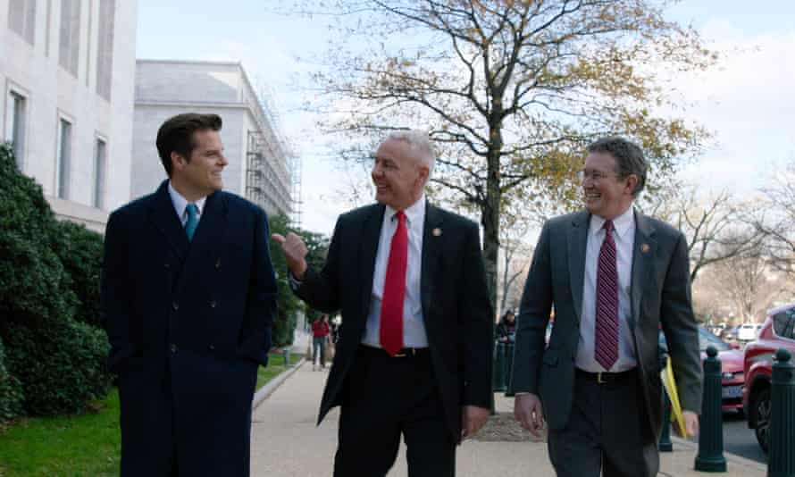 The Swamp follows Republicans Thomas Massie, Ken Buck and in particular Matt Gaetz over the course of one turbulent year.