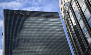 The Canary Wharf offices of JP Morgan