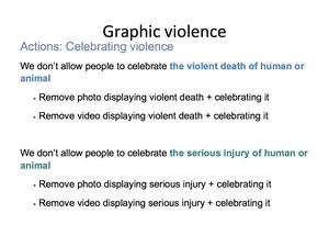 Graphic Violence 13