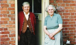 Lewis Rogers, who survived the Battle of the Somme, with his wife, Fanny