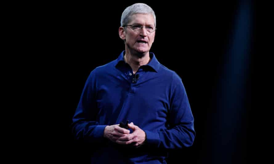 Key Speakers At The Apple Worldwide Developers Conference (WWDC)<br>Tim Cook, chief executive officer of Apple Inc., speaks during the Apple World Wide Developers Conference (WWDC) in San Francisco, California, U.S., on Monday, June 8, 2015. Apple Inc., the maker of iPhones and iPads, will introduce software improvements for its computer and mobile devices as well as reveal new updates, including the introduction of a revamped streaming music service. Photographer: David Paul Morris/Bloomberg via Getty Images