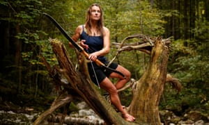 Miriam Lancewood lives a nomadic life with her husband Peter Raine.