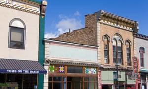 Old Town Las Vegas, New Mexico