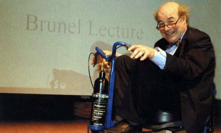 Heinz Wolff was interested in helping elderly people and those with disabilities.
