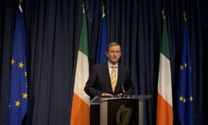 Enda Kenny addresses journalists following the result of the UK's EU referendum.