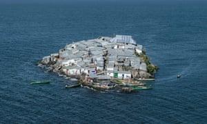 A view of Migingo island