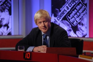 Boris Johnson on Have I Got News For You in 2002.