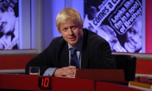 Boris Johnson on Have I Got News For You 29/11/2002