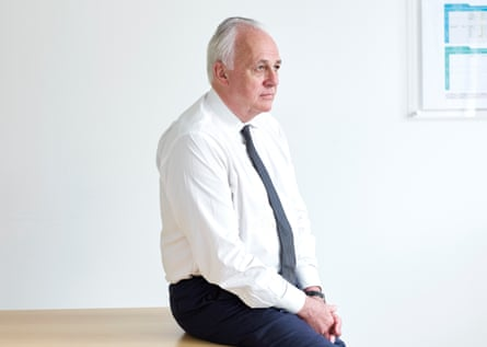 Mark Malloch Brown of Best for Britain, photographed at his office in London