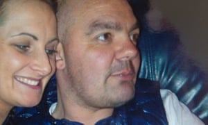 Gail Hadfield Grainger with Anthony Grainger, who was killed in 2012.