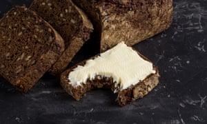Restaurant cert: posh bread and cultured butter.
