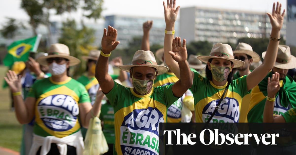 Fears of violence on Brazil's streets as millions rally to back Bolsonaro