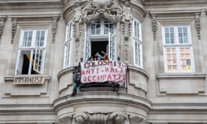 Anti-racism protest at Goldsmiths