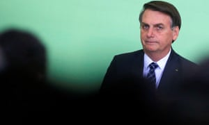 President Jair Bolsonaro. 'We believe there are elements that characterizse genocide,' said a former Brazilian justice minister.