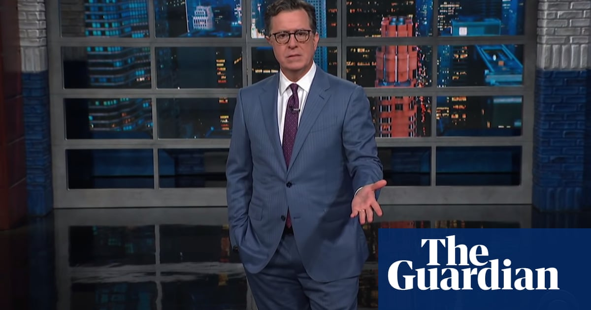 Colbert on Trump Organization charges anticipation: 'I've been hurt too many times'