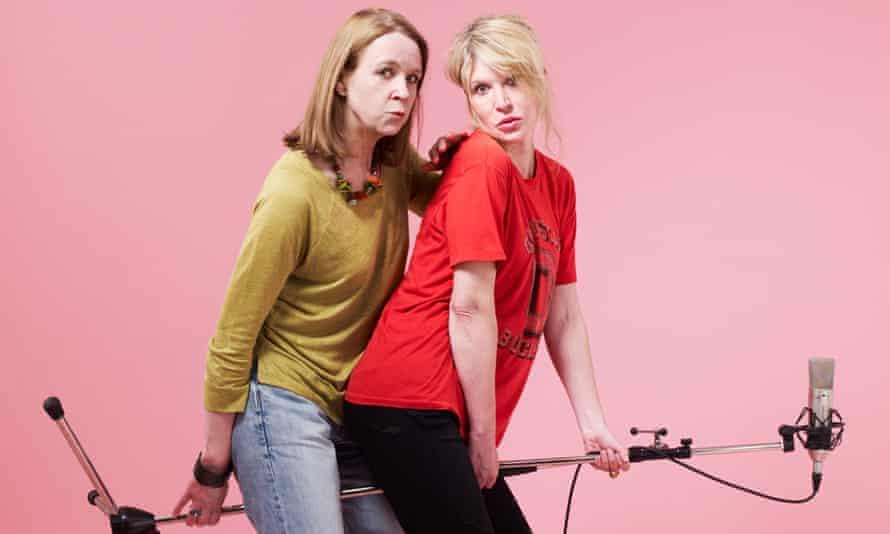 Julia Davis and Vicki Pepperdine in Dear Joan and Jericha.