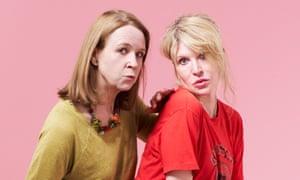 Vicki Pepperdine, left, and Julia Davi, creators of Dear Joan and Jericha.