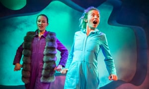 Erin Doherty and Sophie Melville in Wolfie by Ross Willis at Theatre 503, London