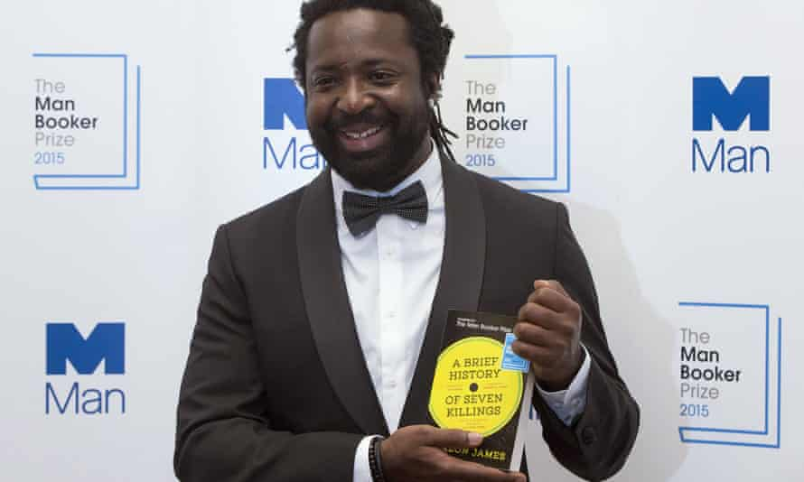 Marlon James after being awarded the 2015 Man Booker prize this week.