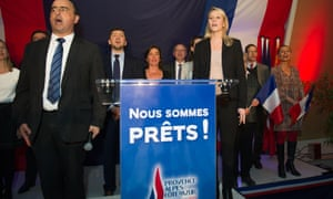 Marion Maréchal-Le Pen, who is standing in the Provence-Alpes-Cote-d'Azur region for the FN