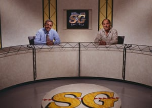 The 'Saint and Greavsie' TV Show ran on ITV from 1985 to 1992.
