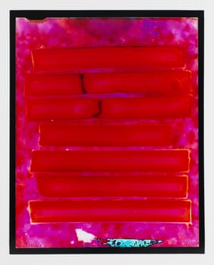 Exit (red state), 2014-15, chromogenic handprinted photograph from 5 x 4 inch negative. Courtesy of the artist and Hugo Michell Gallery, Adelaide. © The artist
