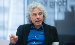 """Author And Professor Steven Pinker Interview<br>Steven Pinker, author and Harvard professor, speaks during an interview in New York, U.S., on Friday, May 22, 2015. Pinker's latest book, """"The Sense of Style: The Thinking Person's Guide to Writing in the 21st Century,"""" was released in 2014. Photographer: Victor J. Blue/Bloomberg via Getty Images"""