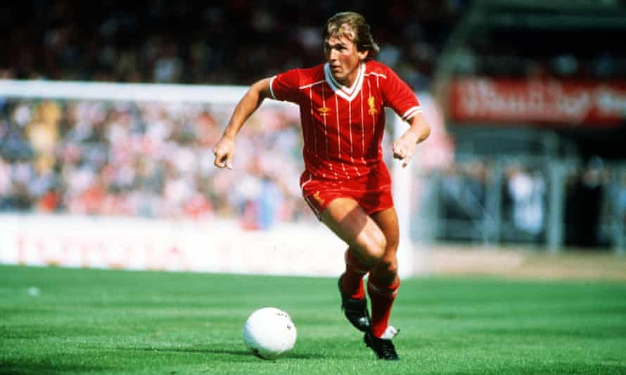 Kenny Dalglish in action against Tottenham at Wembley in the 1982 Charity Shield, which Liverpool won 1-0